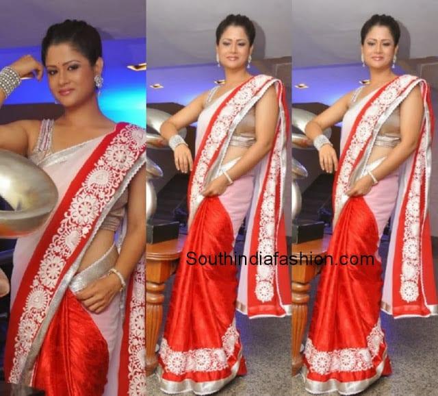 shilpa chakravarthy saree