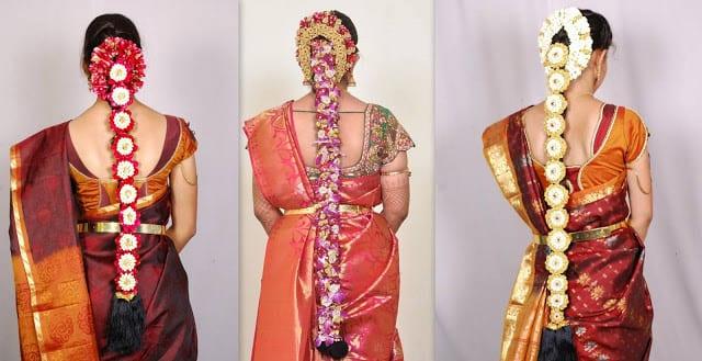south indian bridal hair styles
