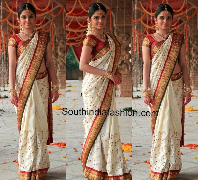 Sheena In Bridal Saree South India Fashion