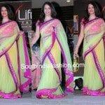 Half Sarees at a Fashion Show Event