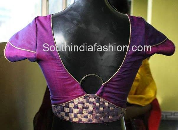 designer blouse stitching