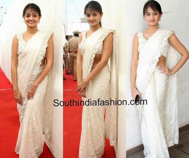 latest tollywood sarees