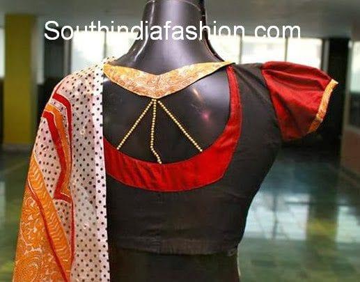 saree blouse designs 2014