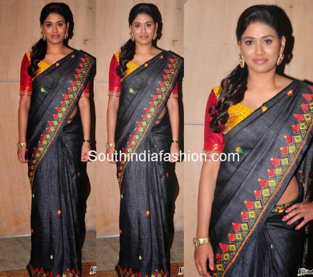 tollywood sarees