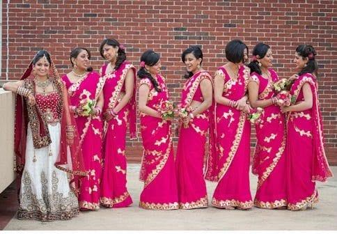 srilanka bridemaid sarees