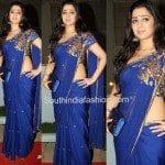 Charmee Kaur in Shilpa Reddy Saree