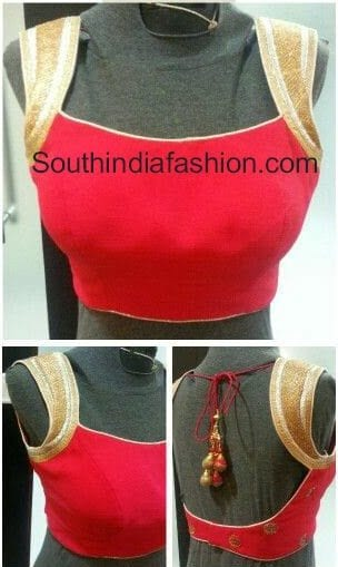 sleeves from the top saree blouse