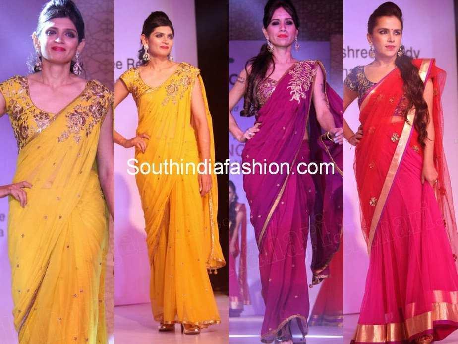 fashion designer shilpa reddy sarees