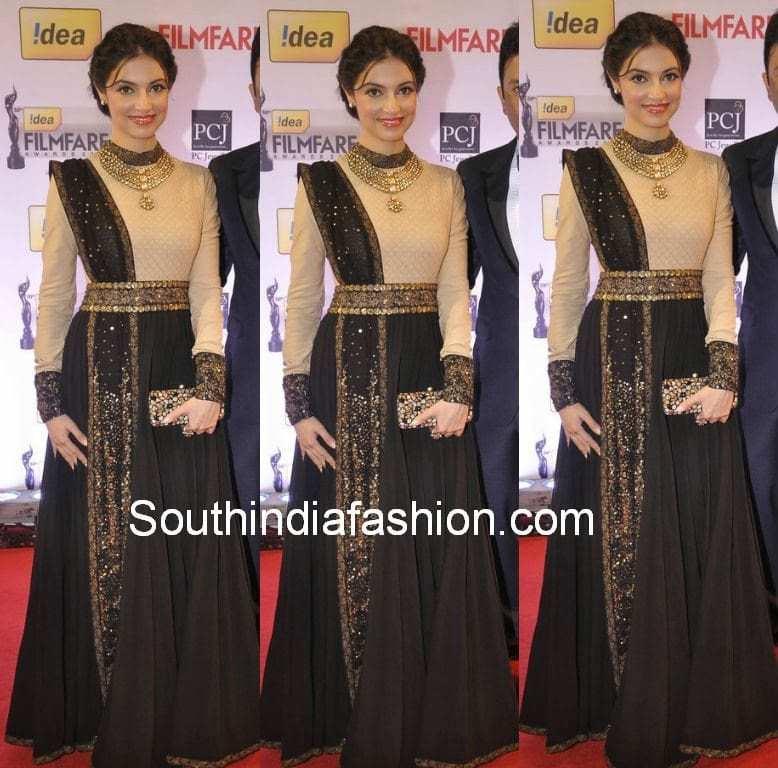 Divya Khosla in Sabyasachi Suit – South India Fashion Sabyasachi Anarkali 2014