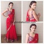 Shilpa Reddy in Half Saree