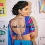 Pallavi in Backless Blouse