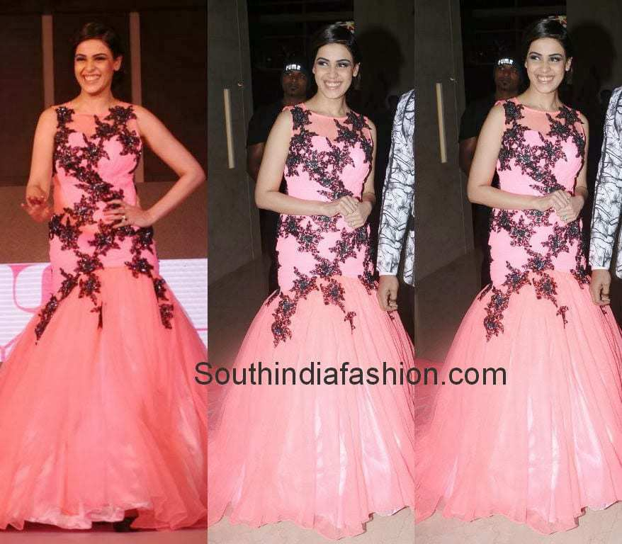 Genelia in Bridal Gown – South India Fashion