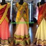 Designer Half Sarees by Aurum Studio