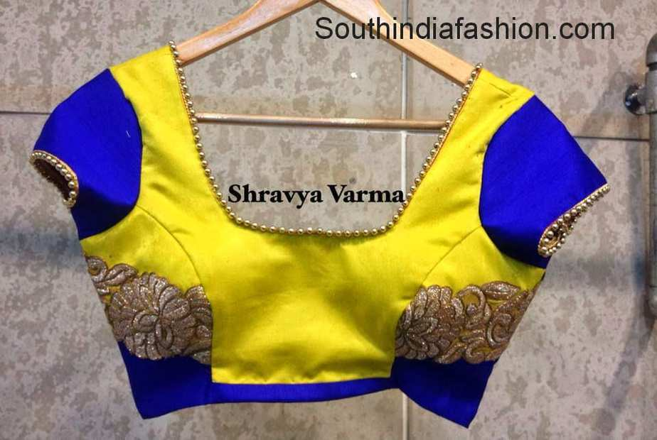 shravya verma blouse designs