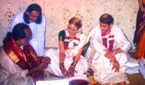 South Indian Celebrities Wedding Photos South India Fashion