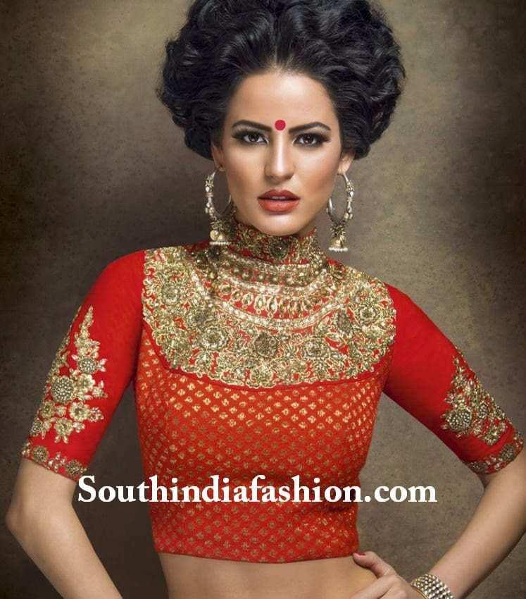 sabyasavhi blouse designs