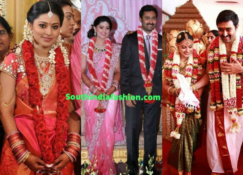 Celebrity Weddings ~ Fashion Trends ~ – South India Fashion