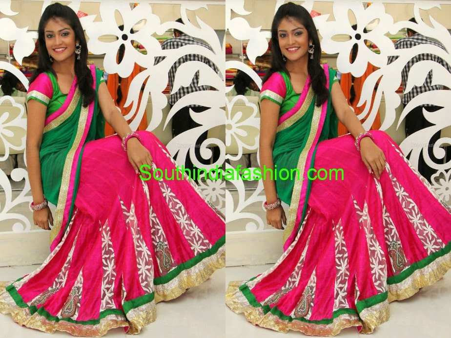 half sarees for teenagers