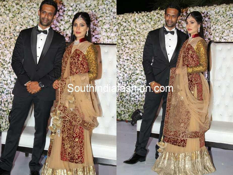 Sabitha Indra Reddy Son Kaushik S Wedding Reception