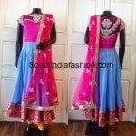 Designer Anarkali by Sagar Tenali
