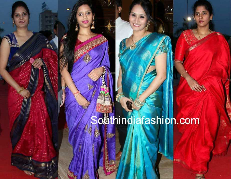 latest celebrity sarees