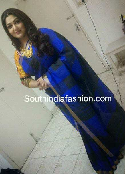 kushboo sarees collection