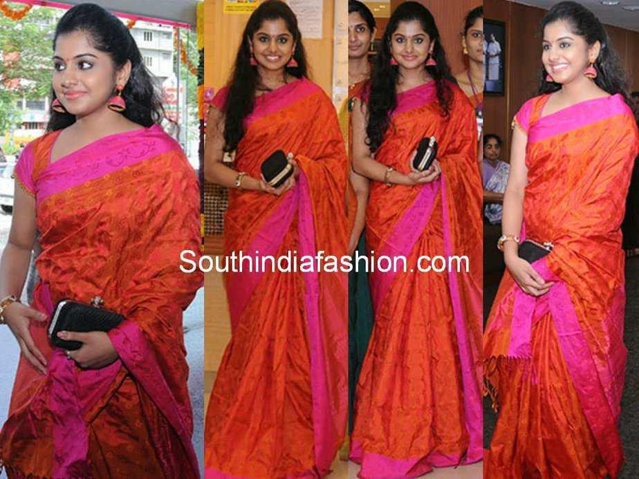 meera nandan latest sarees 2014