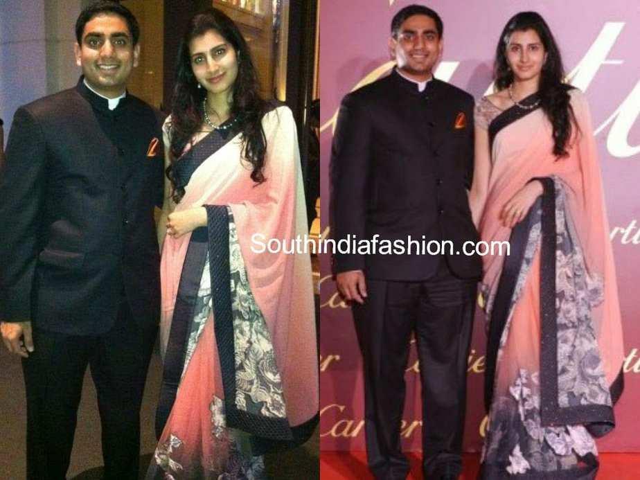 nara lokesh and brahmini 2014
