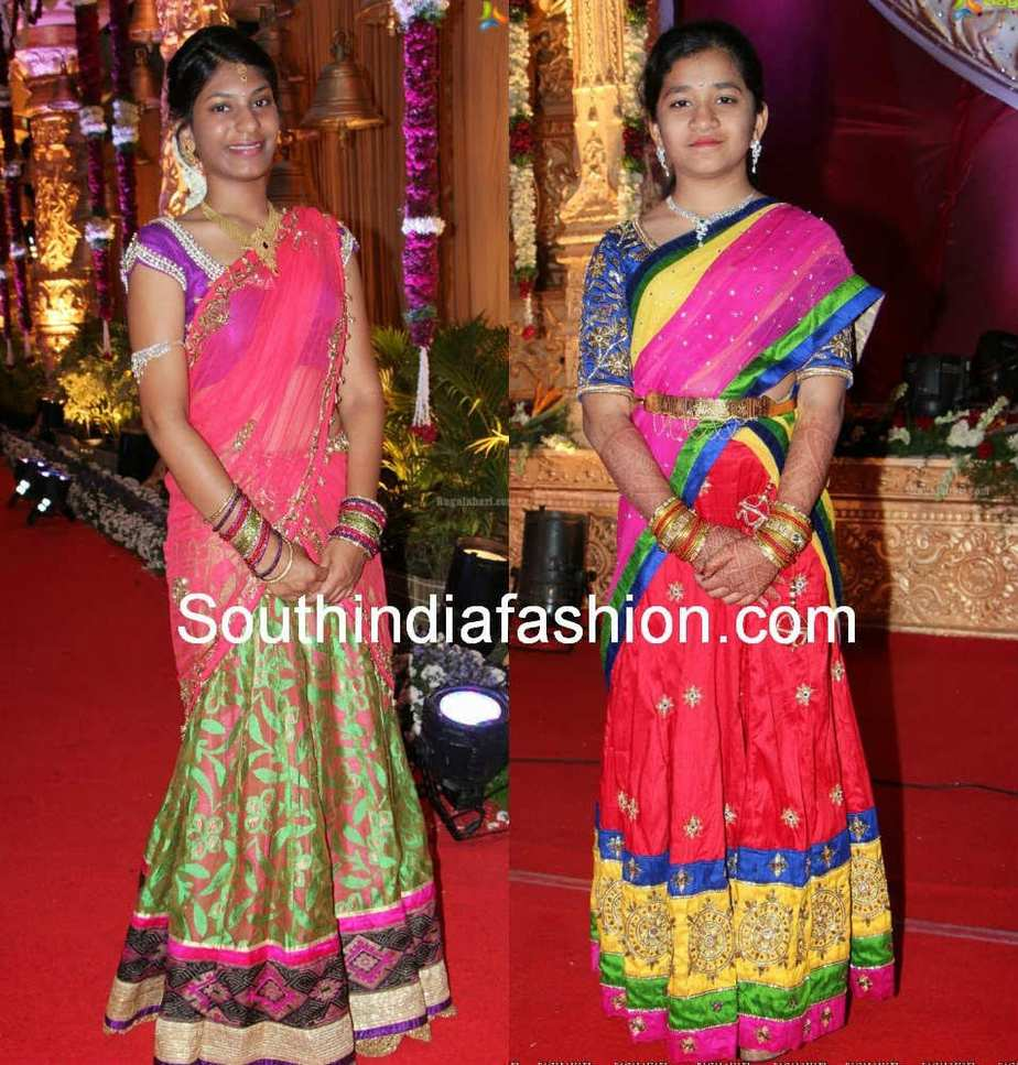 ... blouses with at Pruthviraj Reddy and Madhuri Reddy wedding event