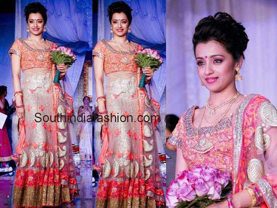 trisha at vivah wedding show canada