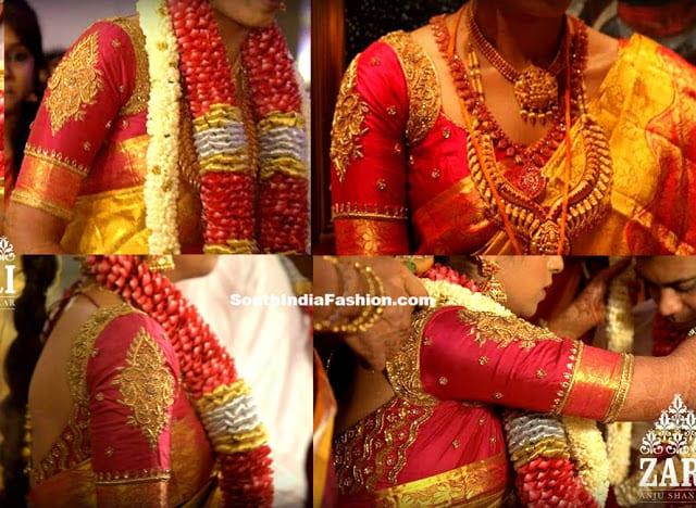 zari anju shankar blouse