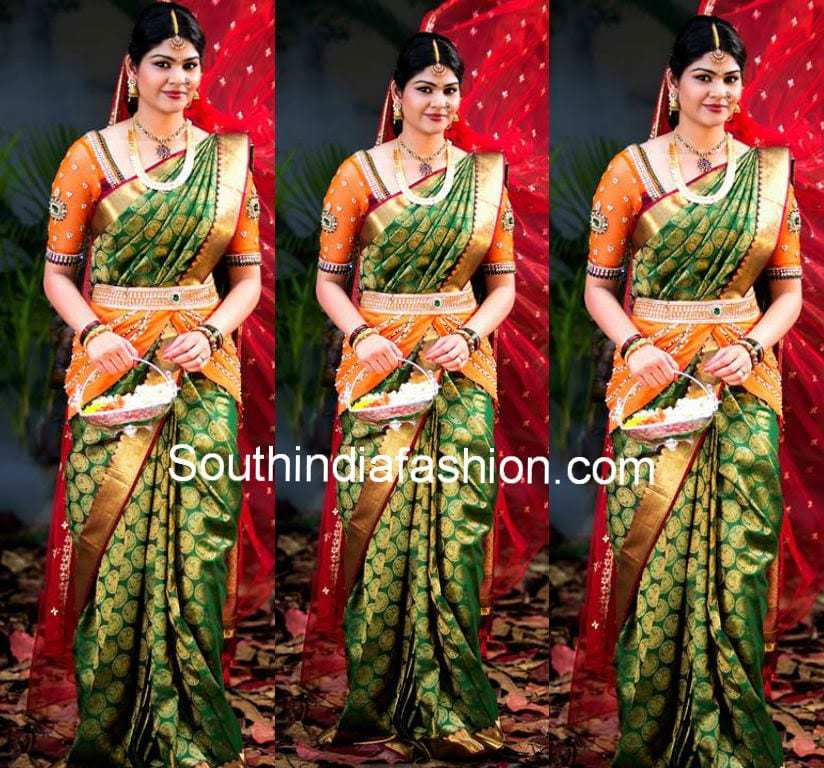 Mesmerizing South Indian Bridal Outfit