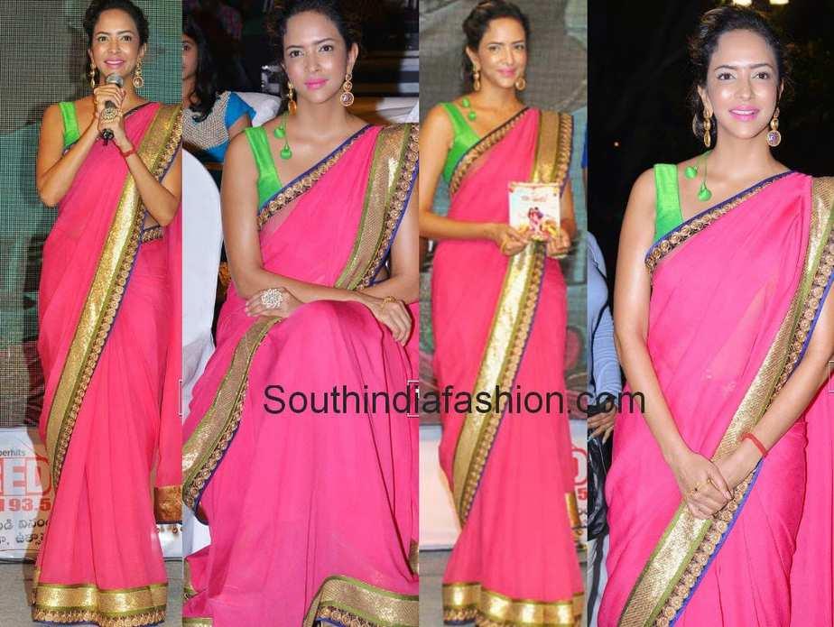 manchu lakshmi latest saree pics