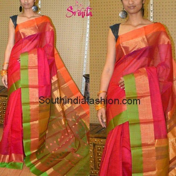 Beautiful Light Weight Silk Saree