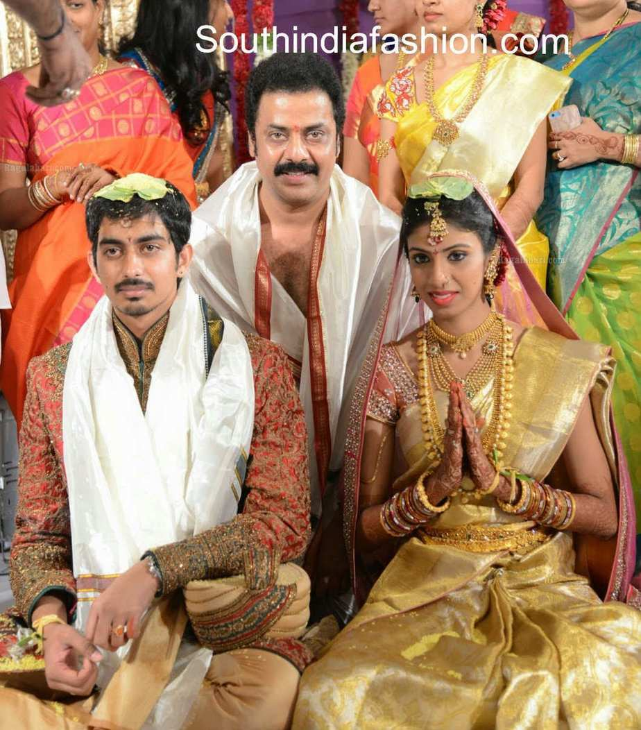 actor raja ravindra daughter marriage � south india fashion