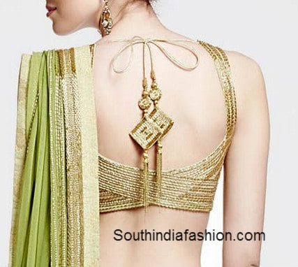 saree blouse models
