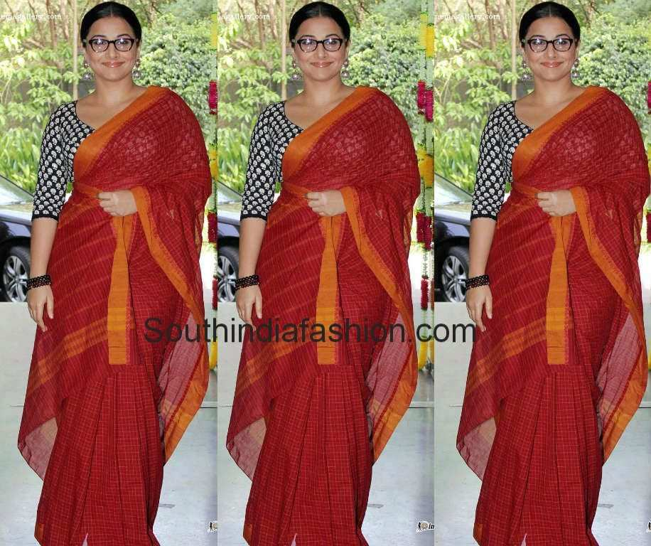 vidya balan sarees 2014