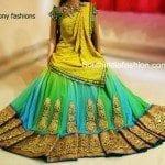 Designer Half Saree by Sony Reddy