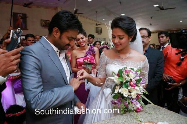 director vijay amala paul engagement photos