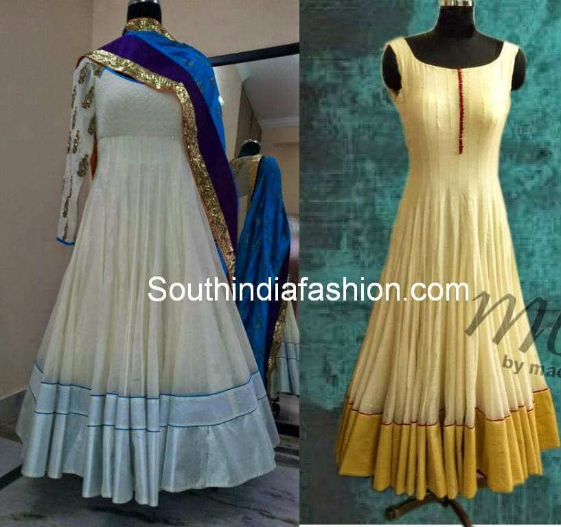 monk by madhu varma anarkali suits