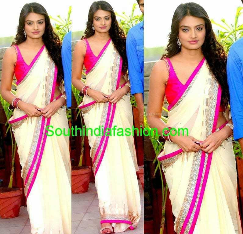 nikhitha narayan sarees 2014