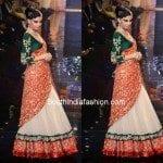 Gorgeous Bridal Half Saree