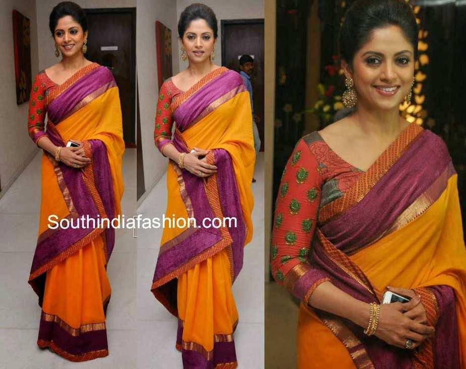 Nadhiya in Elegant Mus...