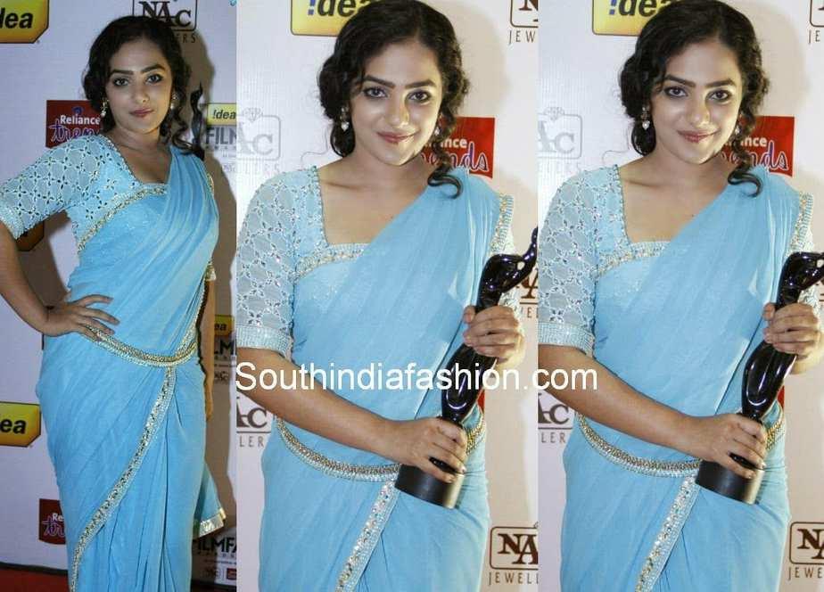 nitya menon at south filmfare awards 2014, nitya menon,