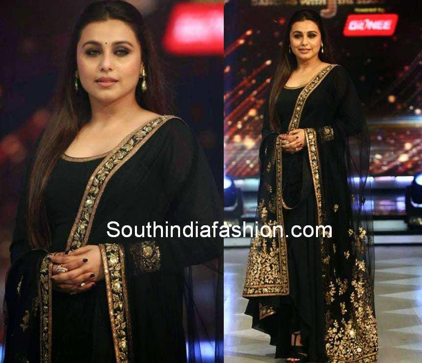 Rani Mukherjee in Sabyasachi Anarkali –South India Fashion Sabyasachi Anarkali 2014