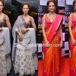 Shilpa Reddy in Lehenga and Bridal Saree