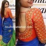 Suhani in Designer Half Saree