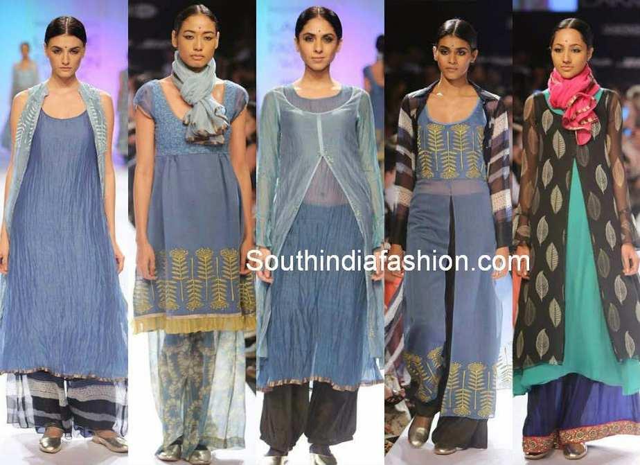lakme fashion week winter/festive 2014 priyadarshini rao
