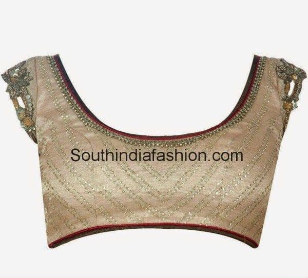 latest trendy blouse models