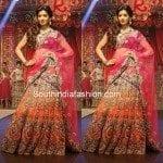 Stunning Bridal Half Saree